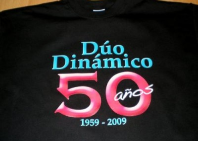 Camiseta 50 aniversario Dúo Dinámico