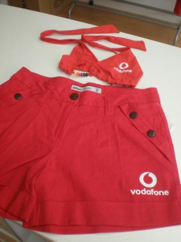 Azafatas Vodafone