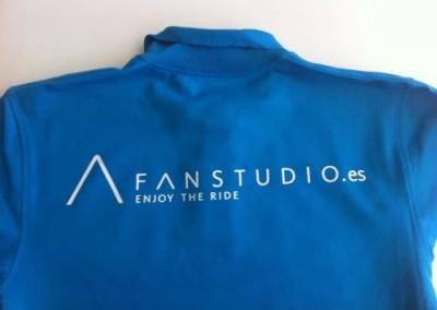 Polos uniforme fan studio