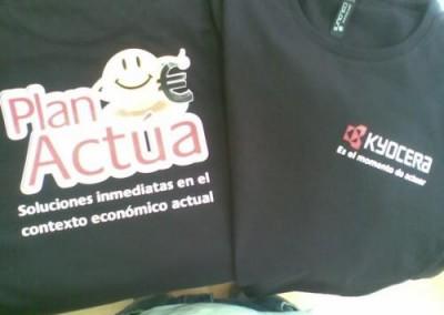 Camisetas Kyocera