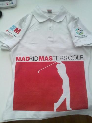 Camisetas Madrid Masters Golf